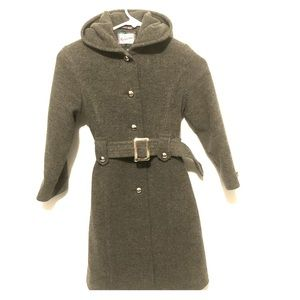 Rothschild long gray pea coat